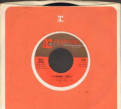 Lopez, Trini - La Bamba (parts 1 + 2) (MINT condition with vintage Reprise company sleeve) - M10/ - 45 rpm Records