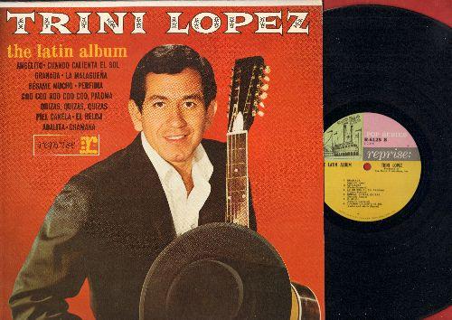 Lopez, Trini - The Latin Album: Cuando Caliente El Sol, Granada, Perfidia, Chamaka, Besame Mucho (Vinyl MONO LP record) - EX8/EX8 - LP Records