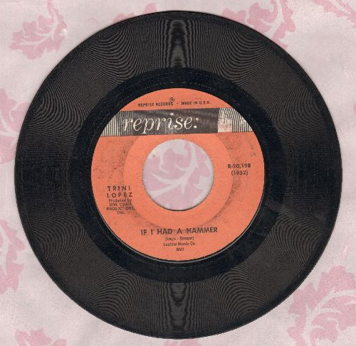 Lopez, Trini - If I Had A Hammer/Unchain My Heart  - VG7/ - 45 rpm Records