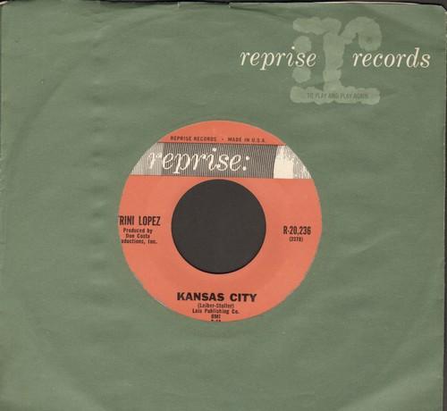 Lopez, Trini - Kansas City/Lonesome Traveler (with vintage Reprise company sleeve) - NM9/ - 45 rpm Records