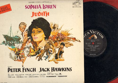 Judith - Judith - Original Motion Picture Soundtrack (Vinyl MONO LP record) - NM9/EX8 - LP Records