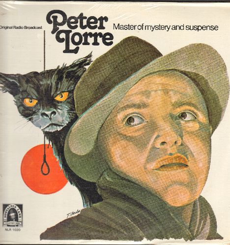 Lorre, Peter - Peter Lorre - Master Of Mystery Abd Suspense: The Black Cat/The Queen Of Spades (re-issue of vintage Radio Plays, vinyl LP record, SEALED, never opened!) - SEALED/SEALED - LP Records