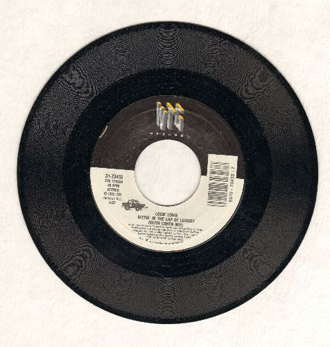 Louie Louie - Sittin' In The Lap Of Luxury (Keith Cohen Mix)/Sittin' In The Lap Of Luxury (Shep's Jam/Louie's Fav II) - NM9/ - 45 rpm Records