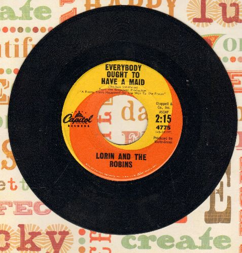 Lorin & The Robins - Everybody Ought To Have A Maid/Algiers (Instrumental) - NM9/ - 45 rpm Records