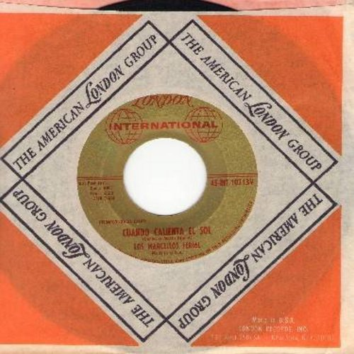 Los Marcellos Ferial - Cunado Caliente El Sol/Llorando Me Dormi (with London company sleeve) - VG7/ - 45 rpm Records