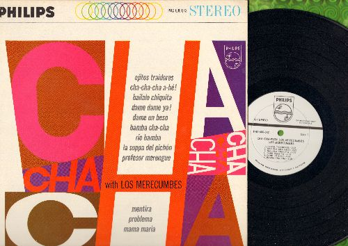 Los Merecumbes - Cha Cha-With Los Merecumbes: Ojitos Traidores, Cha Cha C ha A-He!, Bamba Cha Cha, Rio Bamba, Mama Maria (Vinyl STEREO LP record, DJ advance pressing) - NM9/NM9 - LP Records