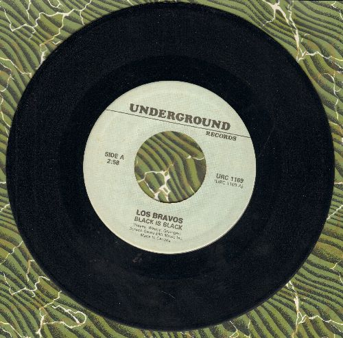 Los Bravos - Black Is Black/With Open Arms (by Jane Morgan on flip-side) (re-issue) - NM9/ - 45 rpm Records