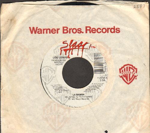 Los Lobos - La Bamba/Charlena (with Warner Brothers company sleeve) - EX8/ - 45 rpm Records