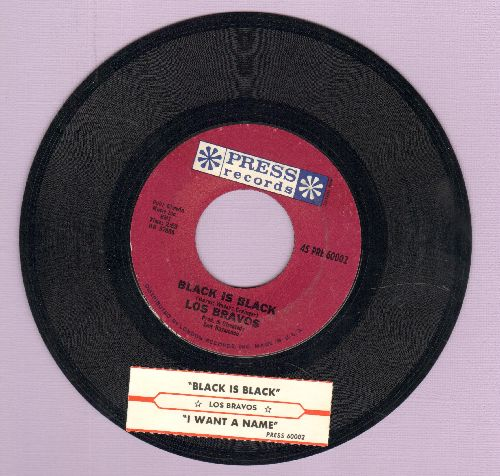 Los Bravos - Black Is Black (I Want My Baby Back)/I Want A Name (NICE condition with juke box label) - NM9/ - 45 rpm Records