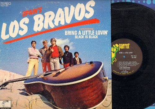 Los Bravos - Bring A Little Lovin': Black Is Black, Play With Fire And You'll Get Burned, She's My Girl (vinyl STEREO LP record) - NM9/EX8 - LP Records