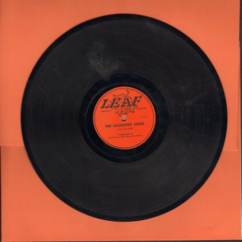 Wall, Vic - Giggle, Wiggle, Wiggle Girl/The Laughing Song (10 inch 78rpm record) - EX8/ - 78 rpm