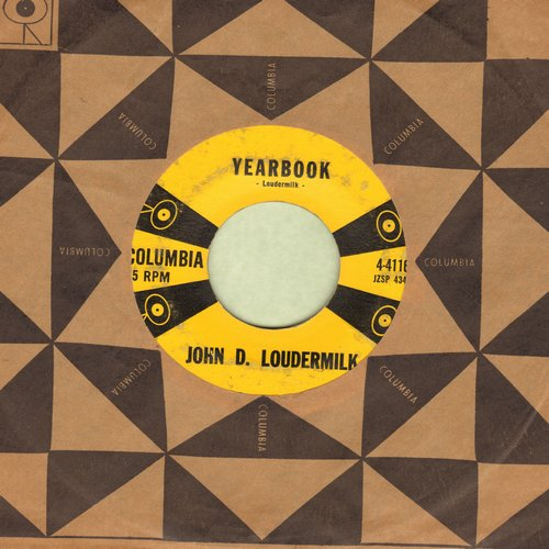 Loudermilk, John D. - Yearbook/Susie's House (with Columbia company sleeve) - VG7/ - 45 rpm Records