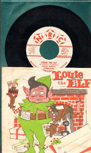 Bloch, Sonny Coralairs - Louie The Elf/Buon Natale (with RARE picture sleeve) - NM9/EX8 - 45 rpm Records