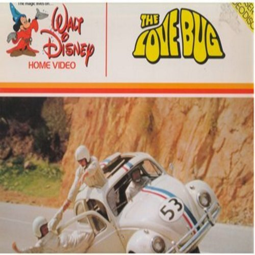 Disney - The Love Bug - LASERDISC of the Classic Family Comedy (This is a LASERDISC, NOT any other kind of Media!) - EX8/EX8 - LaserDiscs