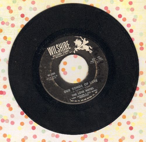 Love Notes - Our Songs Of Love/Nancy (My Love) - VG6/ - 45 rpm Records