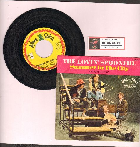 Lovin' Spoonful - Summer In The City/Butchie's Tune (with picture sleeve) - NM9/NM9 - 45 rpm Records