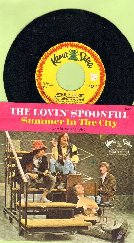 Lovin' Spoonful - Summer In The City/Butchie's Tune (with picture sleeve) - EX8/NM9 - 45 rpm Records