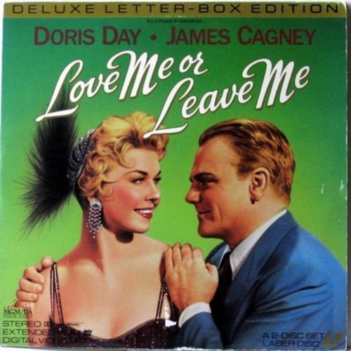 Love Me Or Leave Me - Love Me Or Leave Me - Laser Disc version of the Classic 1955 MGM Musical starring Doris Day and James Cagney  (This is a set of 2 LASER DISCS, NOT ANY OTHER KIND OF MEDIA!) - NM9/VG7 - Laser Discs