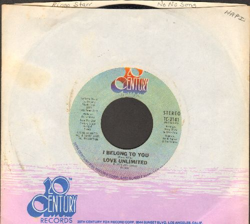 Love Unlimited - I Belong To You/And Only You (with company sleeve) - NM9/ - 45 rpm Records