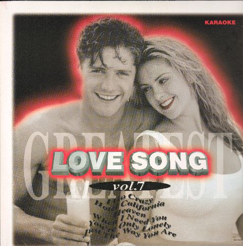 Laser Disc Love Song Vol. 7 - LASER DISC KARAOKE Love Song Vol. 7, 28 Tracks with Vintage Rock & Roll Love Ballads: Sukiyaki, Hey Jude, Memory, You Are My Sunshine, Hotel California, MORE! (This is a LASER DISC, not any other media!) - NM9/NM9 - Laser Dis