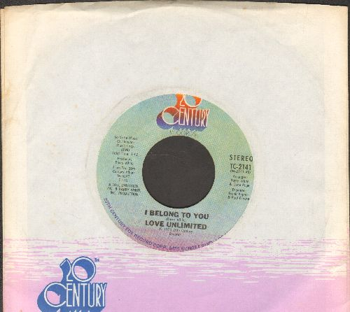 Love Unlimited - I Belong To You/And Only You (with company sleeve) - EX8/ - 45 rpm Records