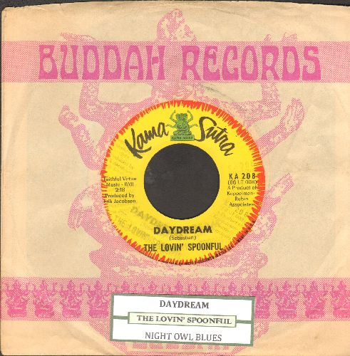 Lovin' Spoonful - Daydream/Night Owl Blues (with juke box label and company sleeve) - NM9/ - 45 rpm Records