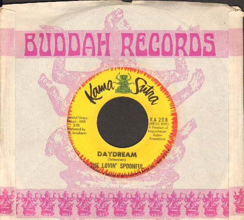 Lovin' Spoonful - Daydream/Night Owl Blues (with company sleeve) - NM9/ - 45 rpm Records