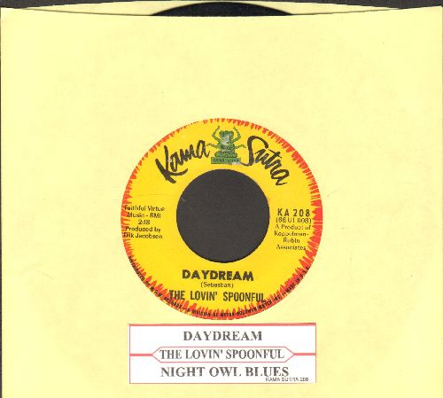 Lovin' Spoonful - Daydream/Night Owl Blues (with juke box label) - EX8/ - 45 rpm Records