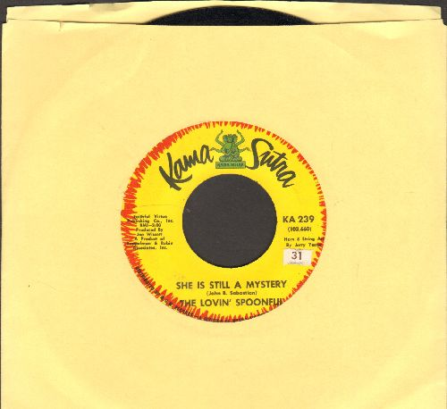Lovin' Spoonful - She Is Still A Mystery/Only Pretty, What A Pity - EX8/ - 45 rpm Records