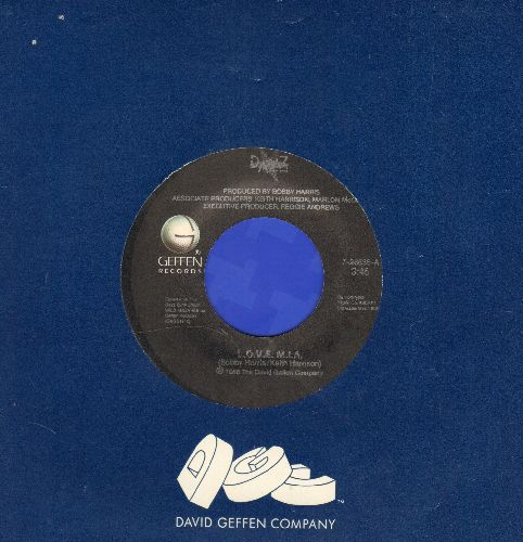 Dazz Band - L.O.V.E. M.I.A./A Place In My Heart (with Geffen company sleeve) - NM9/ - 45 rpm Records