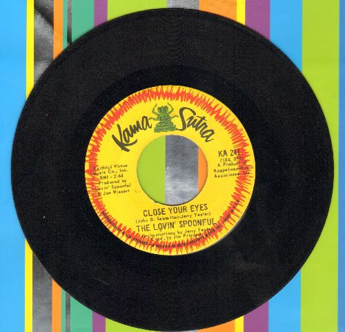 Lovin' Spoonful - Close Your Eyes/Money - EX8/ - 45 rpm Records