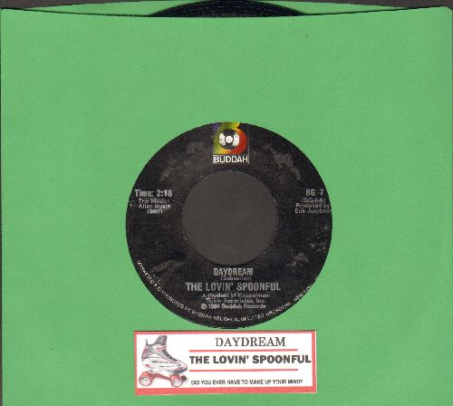 Lovin' Spoonful - Daudream/Did You Ever Have To Make Up Your Mind (with juke box label) - NM9/ - 45 rpm Records