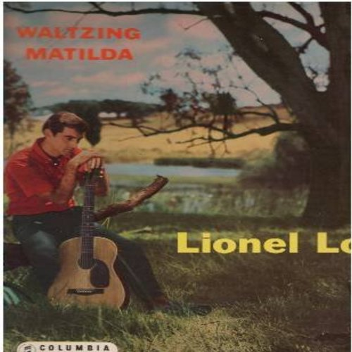 Long, Lionel - Waltzing Matilda: Wallaby Stew, The Drover's Dream, Click Go The Shears, The Wild Rover, Botany Bay, Ring-A-Ling (Vinyl STEREO LP record, AUSTRALIAN pressing, NICE condition!) - M10/EX8 - LP Records