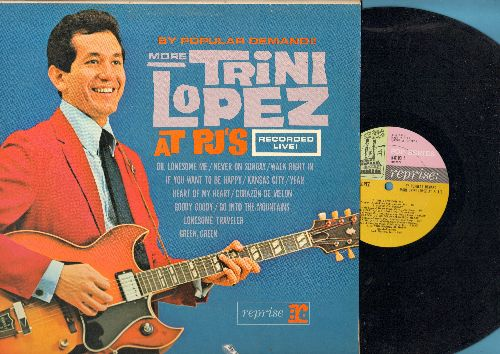 Lopez, Trini - More Trini Lopez At PJ's: Walk Right In, Never On Sunday, Goody Goody, Corazon De Melon (vinyl STEREO LP record) - NM9/EX8 - LP Records