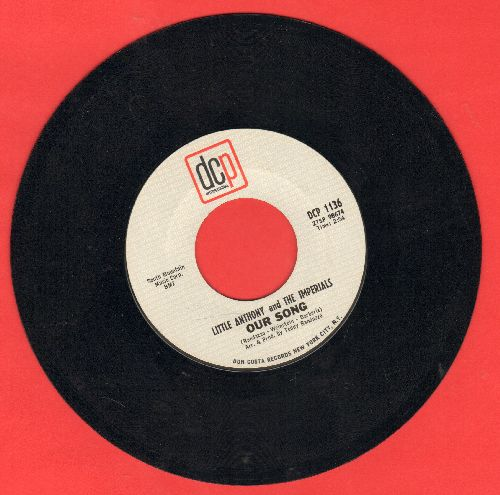Little Anthony & The Imperials - Our Song/Take Me Back - EX8/ - 45 rpm Records