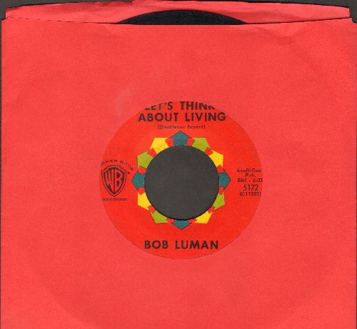 Luman, Bob - Let's Think About Livin'/You've Got Everything - EX8/ - 45 rpm Records