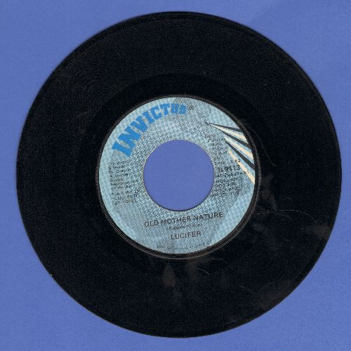 Lucifer - Old Mother Nature/Bloodshot Eyes - EX8/ - 45 rpm Records