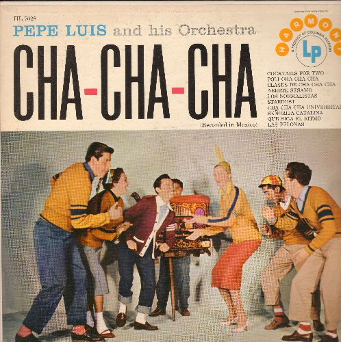 Luis, Pepe & His Orchestra - Cha-Cha-Cha: Cocktails For Two, Clases De Cha Cha Cha, Stardust, Cha Cha Cha Universidad, Que Siga El Ritmo (Vinyl MONO LP record) - NM9/NM9 - LP Records