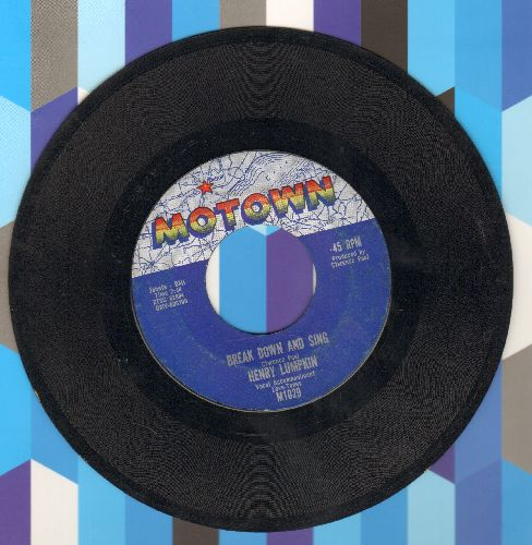 Lumpkin, Henry - Break Down And Sing/Mo Jo Hanna - VG7/ - 45 rpm Records
