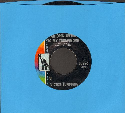 Lundberg, Victor - An Open Letter To My Teenage Son/My Buddy Carl (bb) - NM9/ - 45 rpm Records