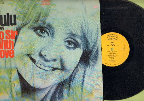Lulu - Lulu Sings To Sir With Love: Morning Dew, Day Tripper, To Love Somebody, Let's Pretend (vinyl STEREO LP record) - EX8/EX8 - LP Records