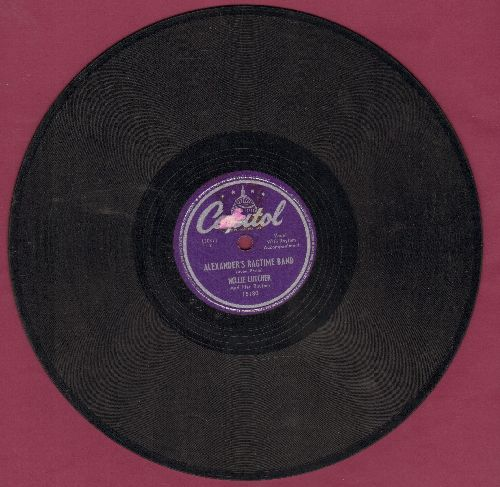 Lutcher, Nellie - Alexander's Ragtime Band/My Little Boy (10 inch 78 rpm record) - EX8/ - 78 rpm