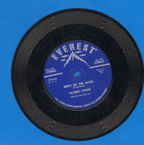 Lynne, Gloria - Birth Of The Blues/Young And Foolish (7 inch 33 rpm STEREO record) - NM9/ - 45 rpm Records