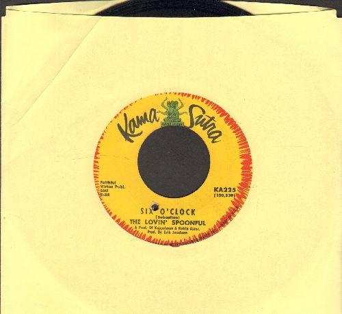 Lovin' Spoonful - Six O'Clock/You're A Big Boy Now (The Finale) (bb) - EX8/ - 45 rpm Records