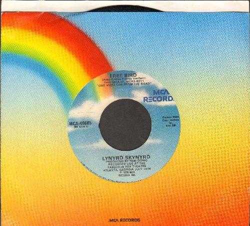 Lynyrd Skynyrd - Free Bird/Searching (with MCA company sleeve) - VG7/ - 45 rpm Records