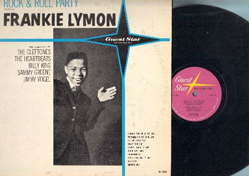 Lymon, Frankie, Cleftones, Heartbeats, others - Rock & Roll Party Starring Frankie Lymon: I Want You To Be My Girl, I Don't Want To Cry, Little Bitty Pretty One, Crazy For You, Mission Bell (Vinyl MONO LP record) (seam split) - EX8/VG7 - LP Records
