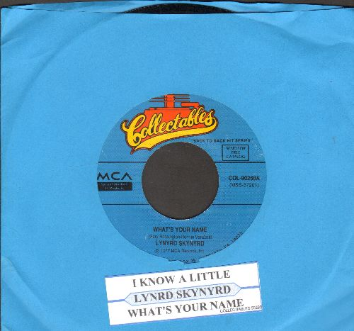 Lynyrd Skynyrd - Gimme Three Steps/Mr. Banker (with juke box label) - NM9/ - 45 rpm Records