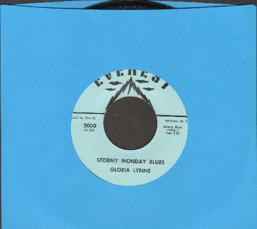 Lynne, Gloria - Stormy Monday Blues/Humming Blues - NM9/ - 45 rpm Records