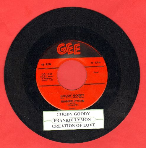 Lymon, Frankie - Goody Goody/Creation Of Love (with juke box label) - VG7/ - 45 rpm Records