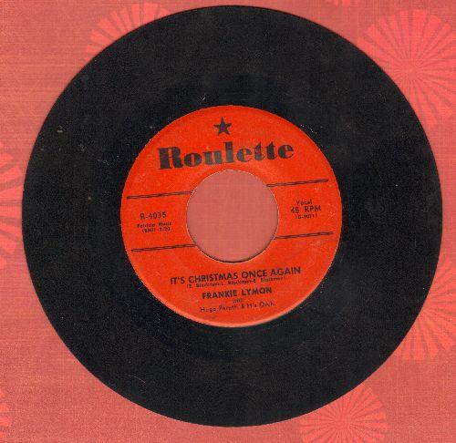 Lymon, Frankie - It's Christmas Once Again/Little Girl - VG7/ - 78 rpm